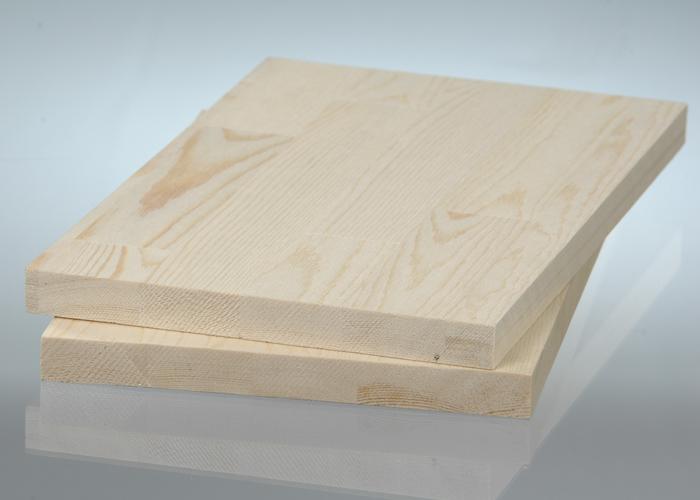 Цельноламельный мебельный щит из дуба первого сорта (BC